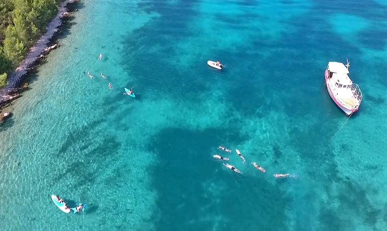 Strel-Swimming-Croatia-Vacations